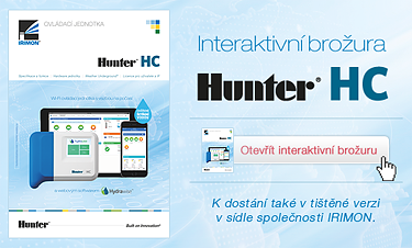 Hunter HC - Interaktivní brožura