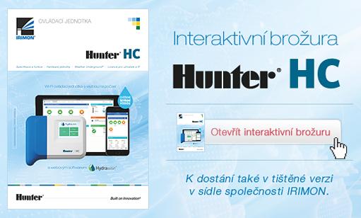 Hunter HC - Interaktivní brožura
