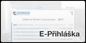 IRIMON E-Příhlášky
